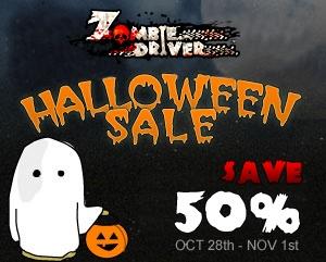 Zombie Driver - Halloween Sale
